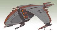 Blarg battleship concept art