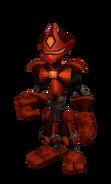 Ninja bot skin from SM render