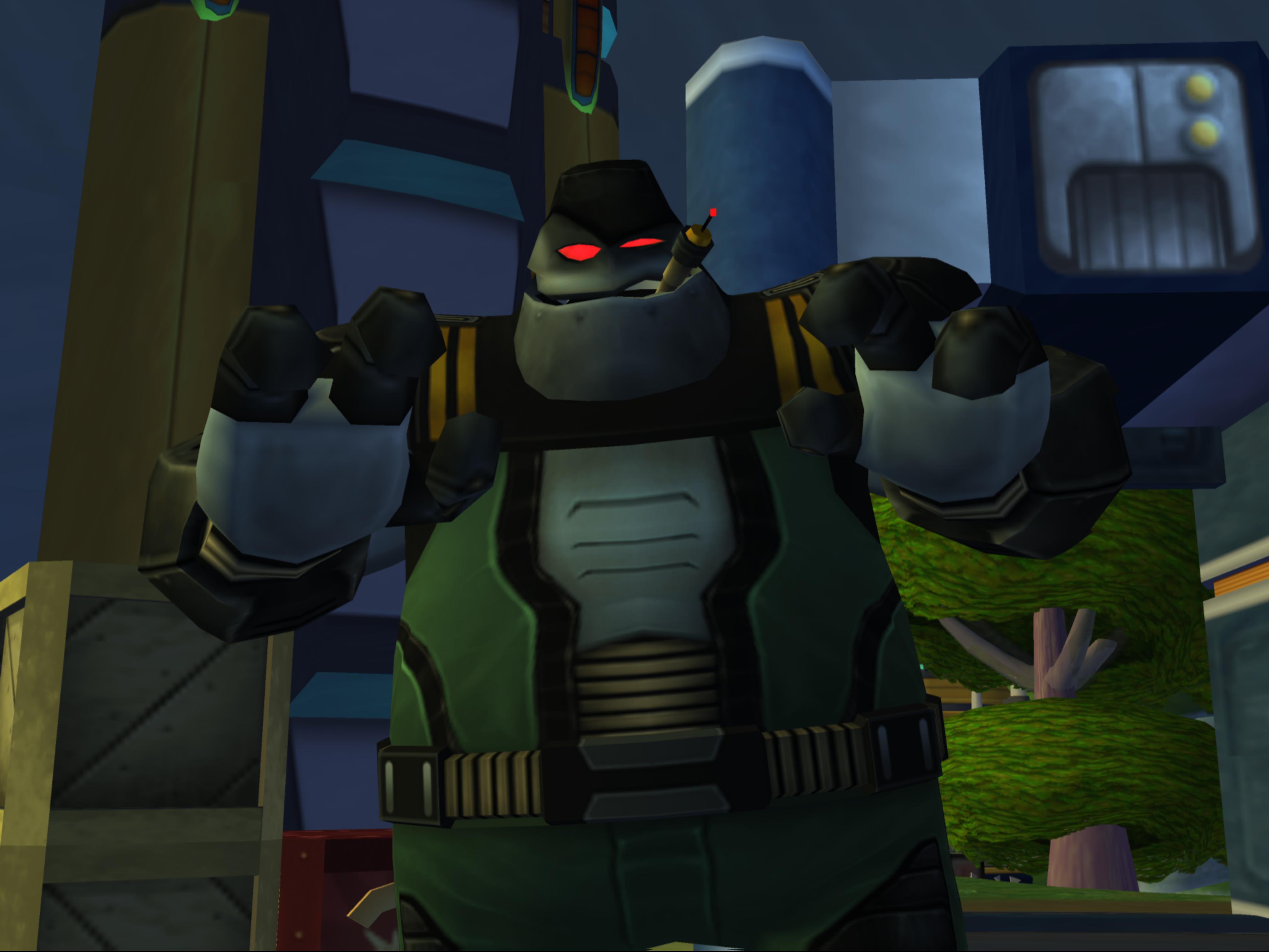 Robot Lieutenant