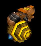 Bee Mine Glove render