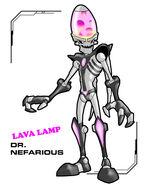 Lava lamp nefarious