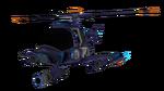Attack-Copter render