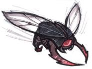 Mutant firefly concept art