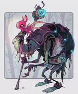 Concept Art - Tharpod Elder