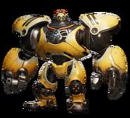 Kit (Warbot) from RA render