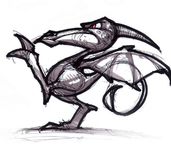 Darter from R&C (2002) concept art.png