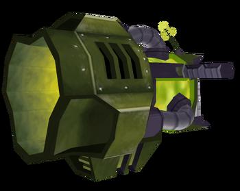 Tetrabomb Gun