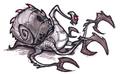 Mutant swamp beast concept art