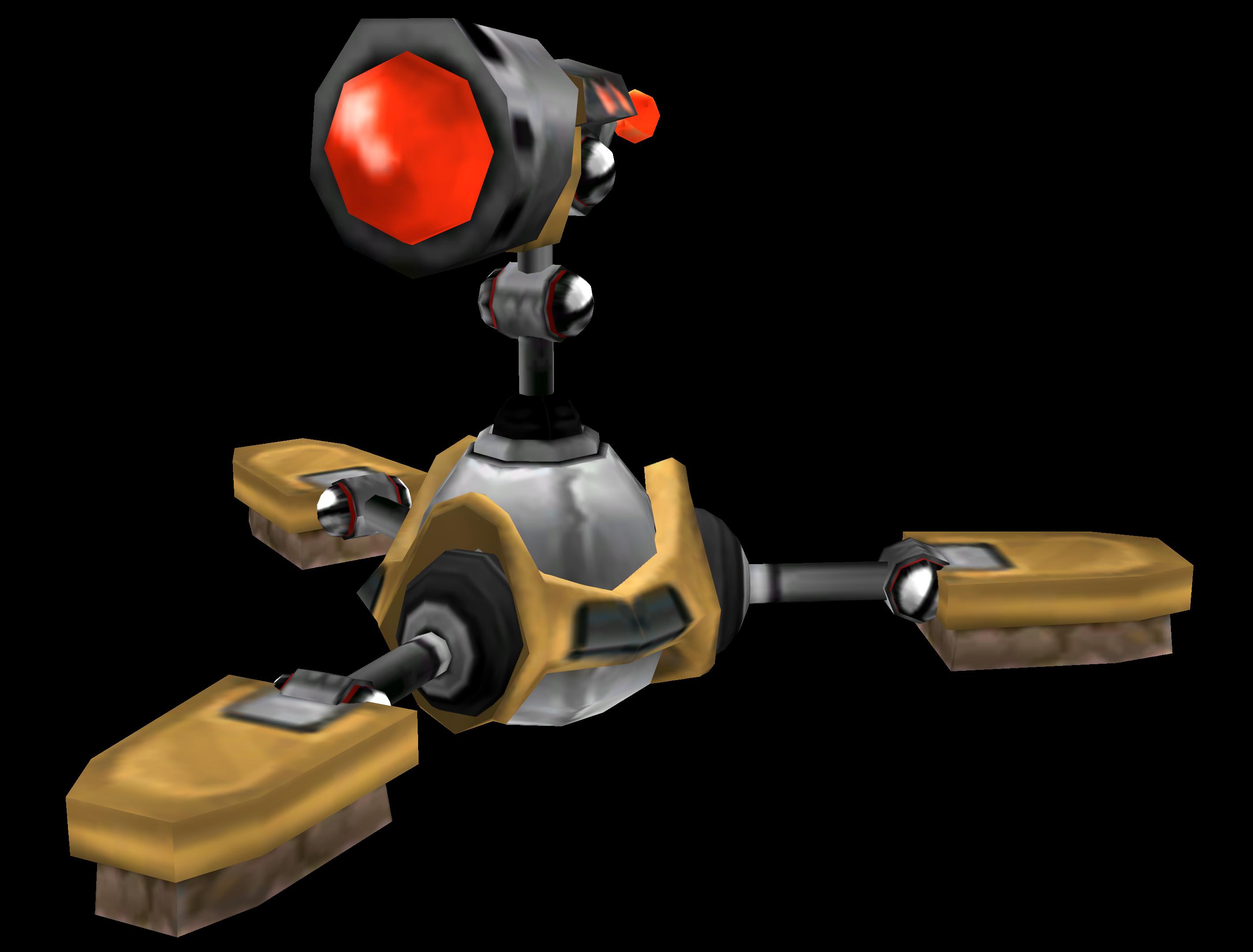 Megacorp Sweeper Bot
