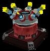 Megacorp Security Turret render