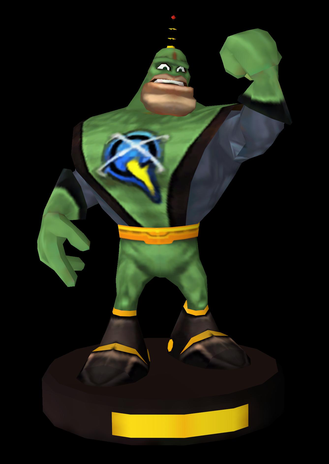 Qwark statuette