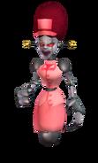 Nurse robot skin render
