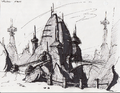 Veldin from R&C (2002) concept art