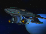 Ausgemustertes Blarg Kriegsschiff