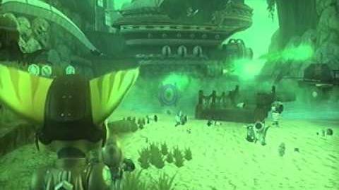Ratchet and Clank en busca del tesoro Parte 6 (Cueva Darkwater)