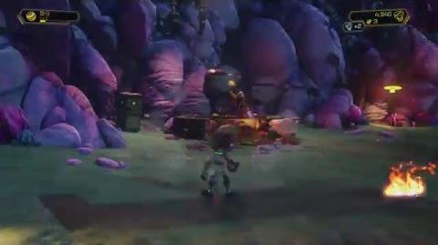 Ratchet & Clank (PS4) - Planet Aridia Gameplay