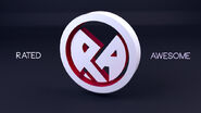 Rated Awesome Logo Post-Processing