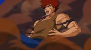 Haru defeats Shuda (Anime)
