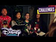 Christmas Caroling All Night Long 🎵 - Holidays Unwrapped - Disney Channel's Epic Holiday Showdown