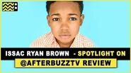 Issac Ryan Brown Interview AfterBuzz TV's Spotlight On