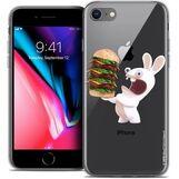 Coque-gel-iphone-7-4-7-lapins-cretins-burger-c