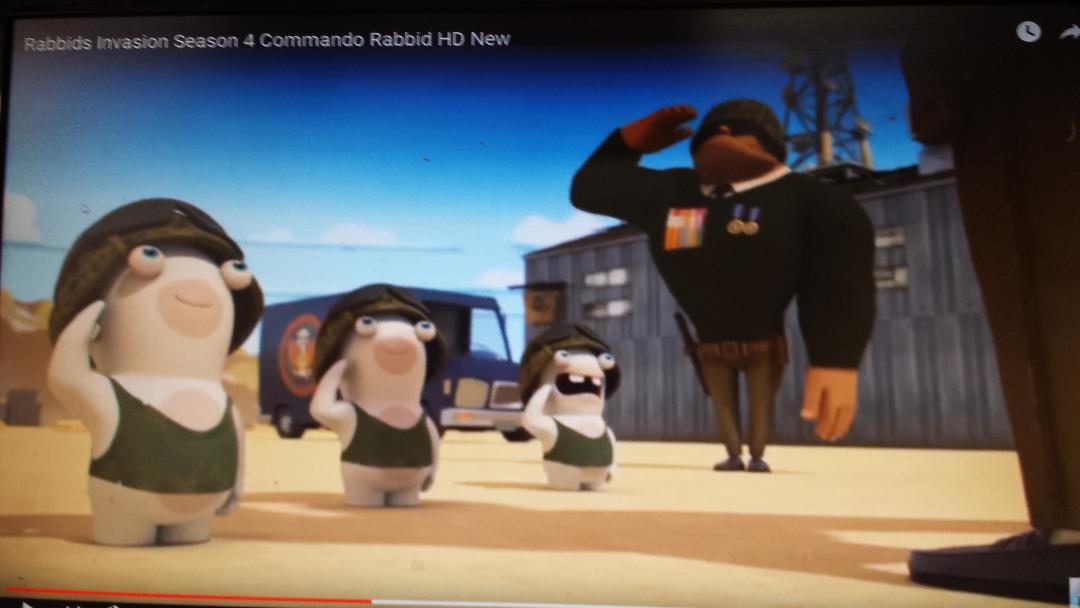 Commando Rabbid