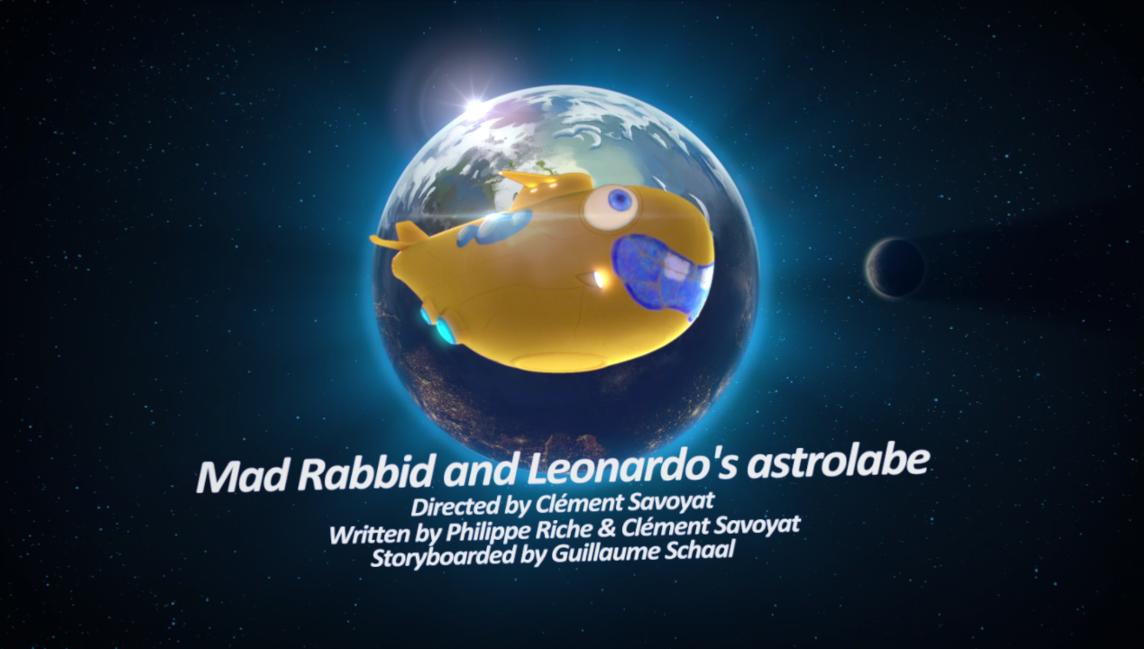 Mad Rabbid and Leonardo's Astrolabe