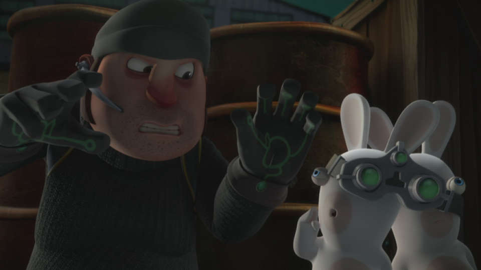 Special Agent Rabbids