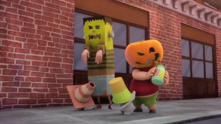 Rabbid Halloween