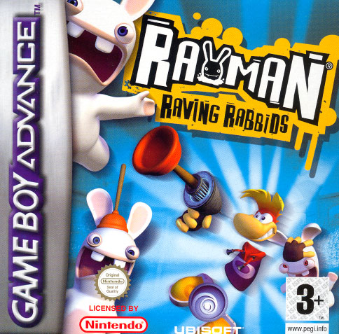 Rayman Raving Rabbids (Game Boy Advance)