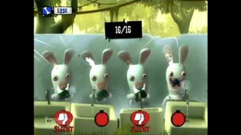 Gameplay Rayman Raving Rabbids- TV Party