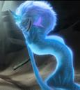 Sisu begin to turned into human form