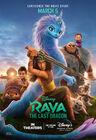Raya & the Last Dragon Stance Poster