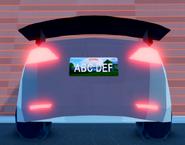 Model 3 Spoiler Rear