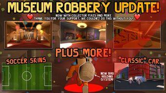 Roblox Jailbreak Museum Heist Code Robux For Free No Human Update Log Jailbreak Wiki Fandom