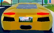 Lamborghini Rear