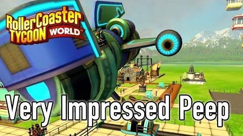 RollerCoaster Tycoon World Trailer 1