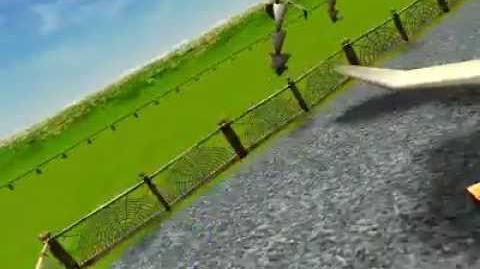 RollerCoaster Tycoon 3 Gallows Swing
