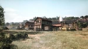 Pacific Union Railroad Camp