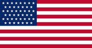 Bandera de los Estados Unidos 1896
