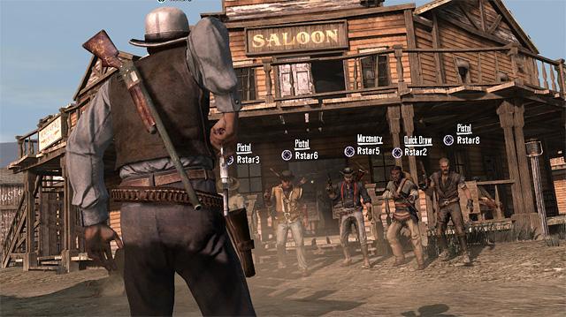 Multijugador de Red Dead Redemption