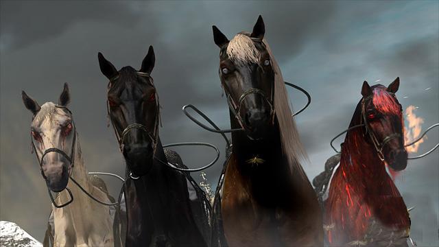 Los 4 caballos del apocalipsis