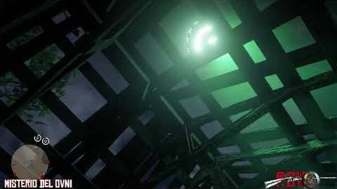 RDR2 Misterio del OVNI