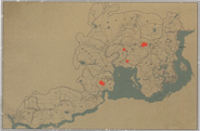 Bisonte americano habitats - Red Dead 2