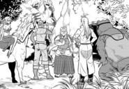 Akitainu guiding to the kobold's den