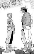 Kichi confessing to e