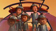 The gang at Mars