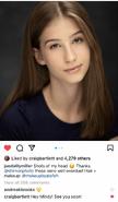 Jaeda lily miller instagram post