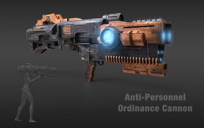 Anti-Personnel Ordinance Cannon