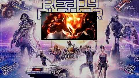 "Ready Player One ""The Iron Giant and Gundam Vs Mechagodzilla"""
